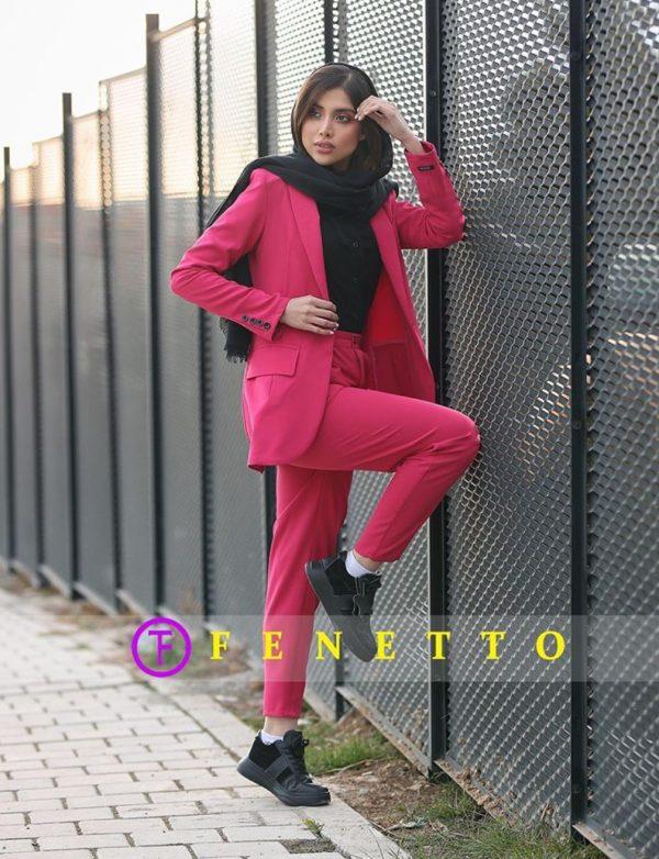 ست کت شلوار پارچه ای زنانه set style fashion