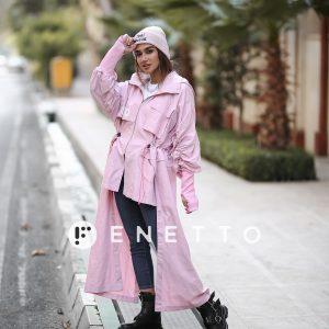 بارانی دوتیکه زنانه پاییزه  2part rainy jacket