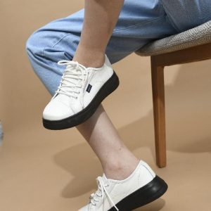 کتونی num4 leather sneakers