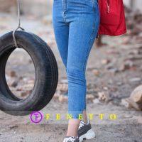 شلوار جین زنانه ساده مدل simple jean85