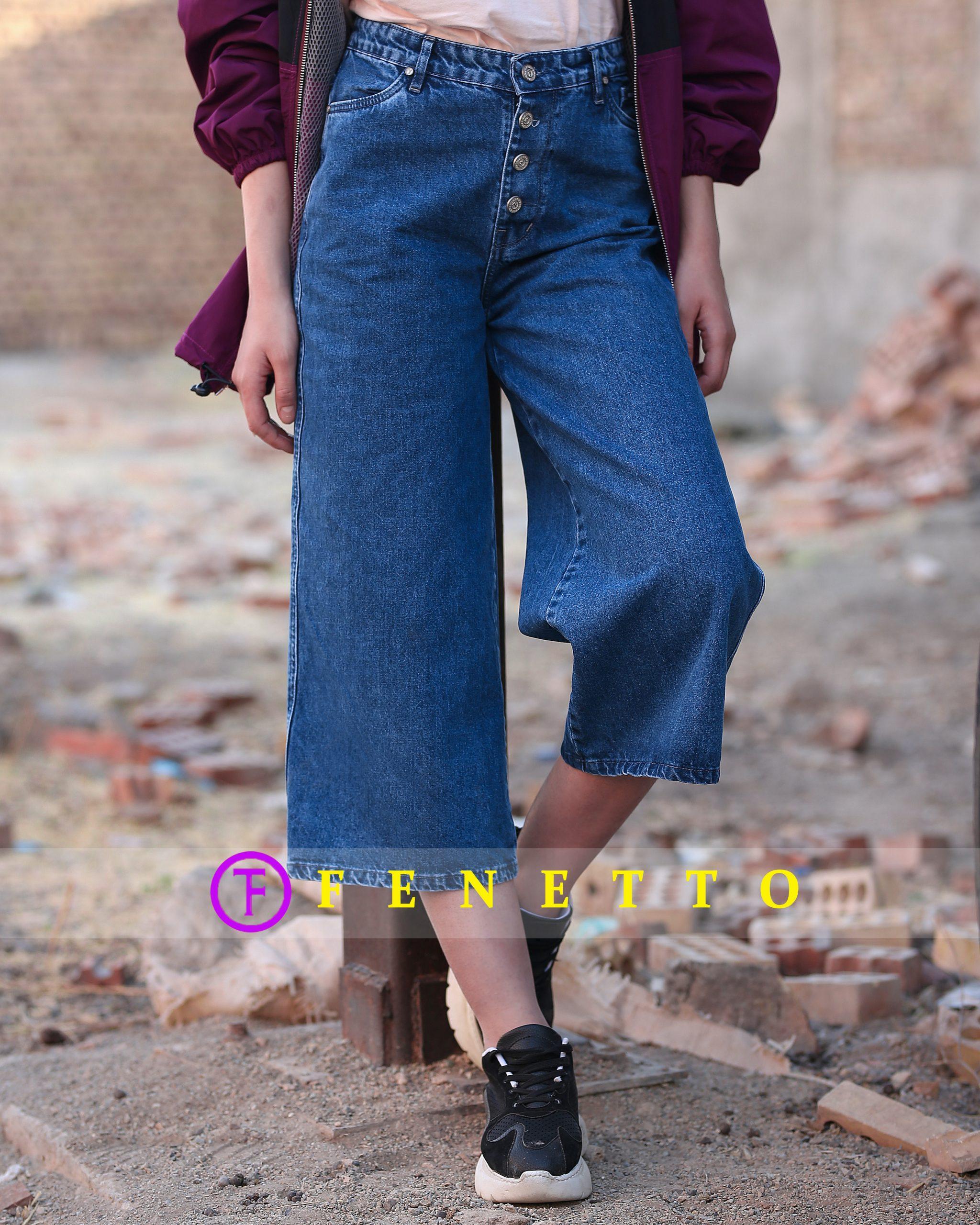 شلوار جین زنانه اسپانیش کوتاه مدل spanish 85