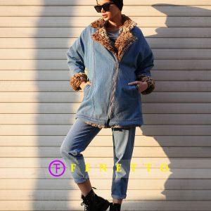 کاپشن jean coat