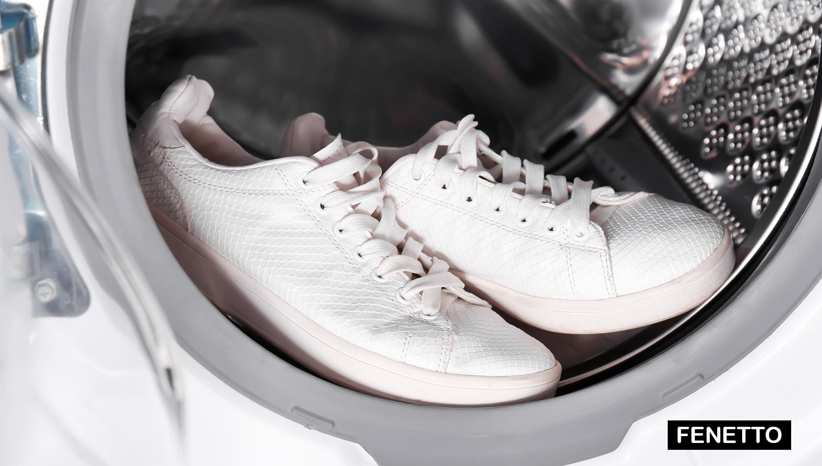روش تمیز کردن کفش های سفید